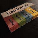 Blog-Visitenkarten für headio.net