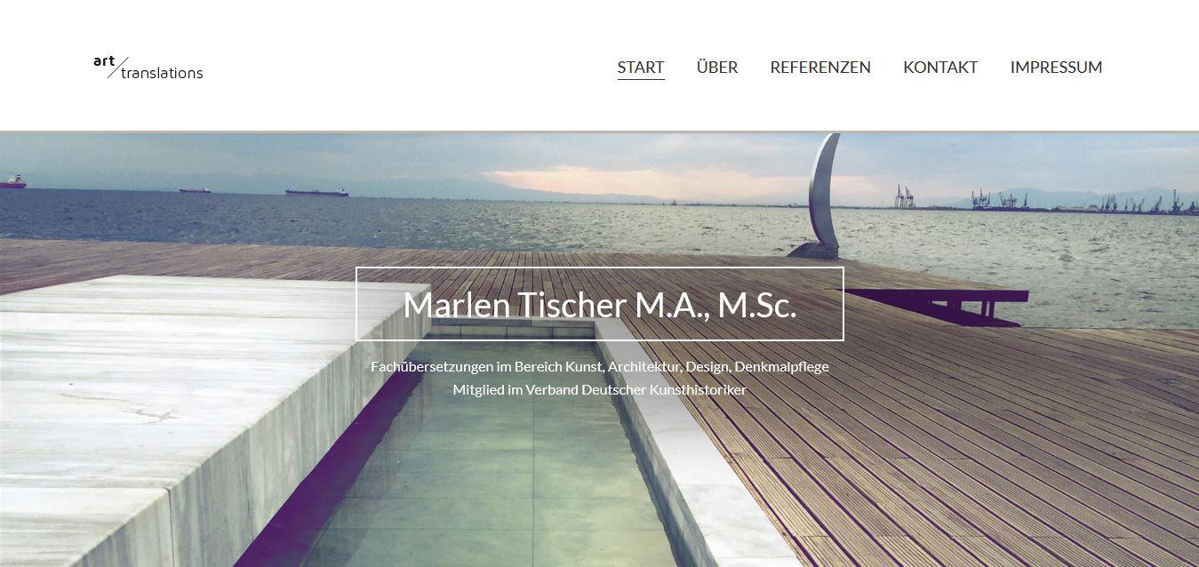 Marlen Tischer - art translations